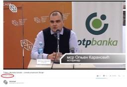 Tribina Mustafa Golubić - između stvarnosti i fikcije pregledi