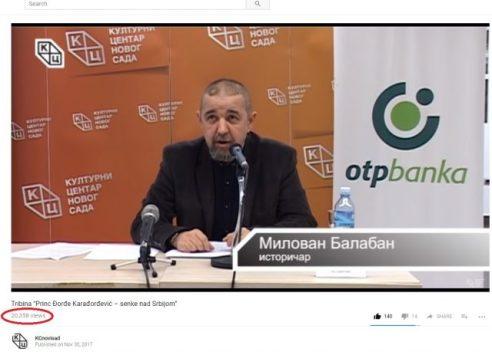 Tribina Princ Đorđe Karađorđević - senke nad Srbijom pregledi