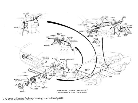 Wiring Schematic 1965 Ford Mustang