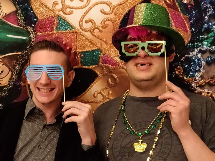 Mardi Gras Party - Kathy's Circle of Friends