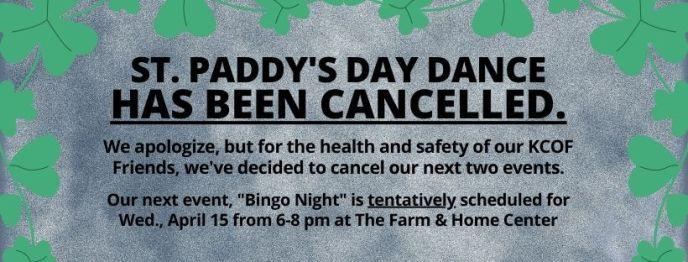 Cancelled - St Paddy's Day Dance