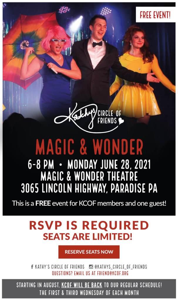 Magic & Wonder   June 28