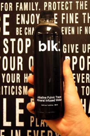 It's just Blk water