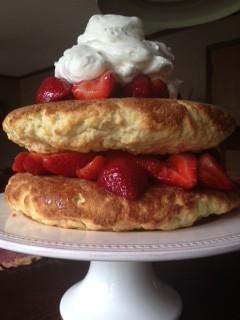 Sweet Freedom: Strawberry Shortcake Cake