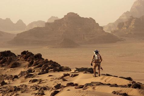 'The Martian' impresses with suspense and science