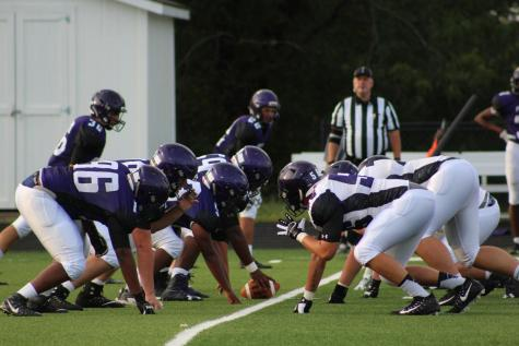 Purple and white leads off fall sports