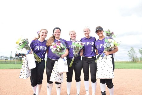 Lady Pirates sweep Wellsville on their senior night