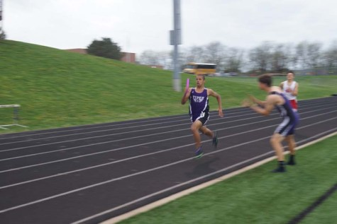 Teams successful at home track meet