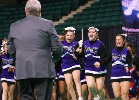Cheer snags first at State Competition