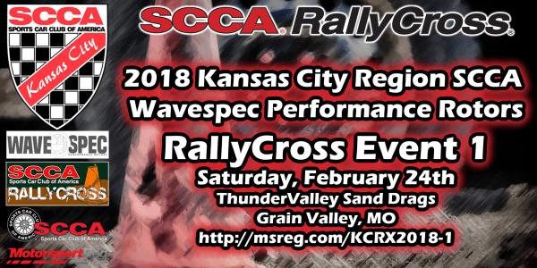 2018 Wavespec KCRSCCA RallyCross Event #1