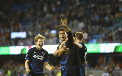 Quakes Snatch Draw with Toronto as Wondo Draws Closer to Record