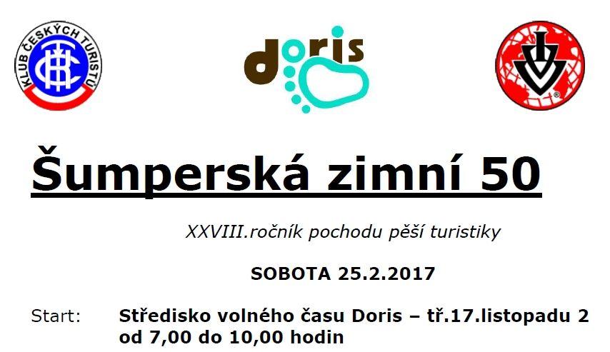 Šumperská zimní padesátka - 25.2.2017