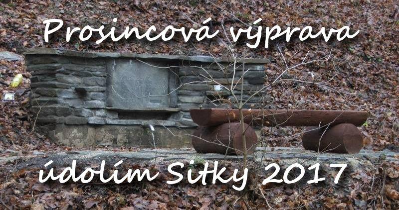 Prosincová výprava údolím Sitky - 9.12.2017