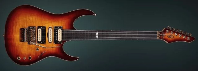 """Luthier Guitar """"The Wiseman"""" - Made by the hands of KD"""
