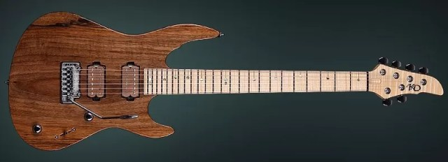"Hi End Guitar ""Turbulence II""- Precious Craftmanship From Luthier Hand"
