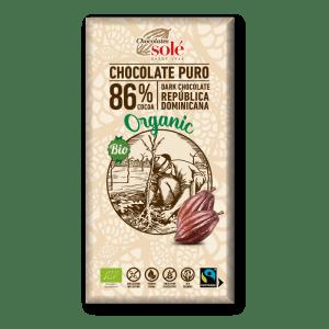 chocolate negro 86