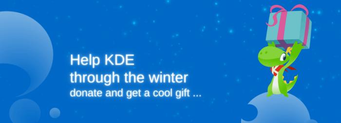 KDE donation campaign