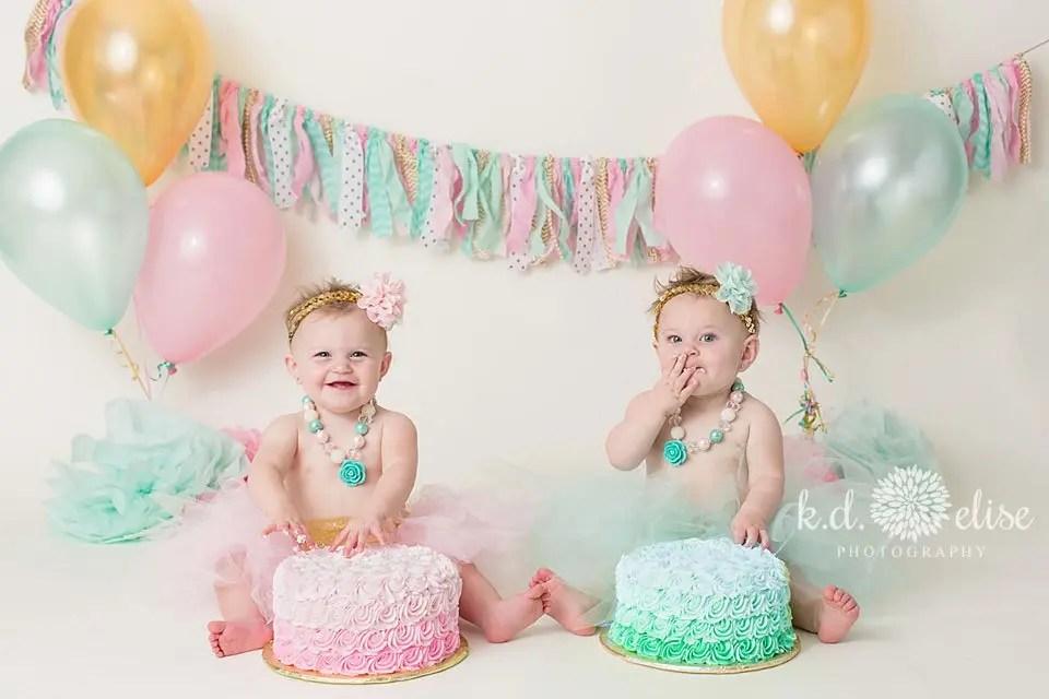 Groovy Twin Cake Smash Colorado Springs Photographer Pueblo Funny Birthday Cards Online Necthendildamsfinfo