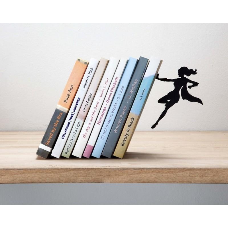 artori design supergal serre livres metal noir kdesign