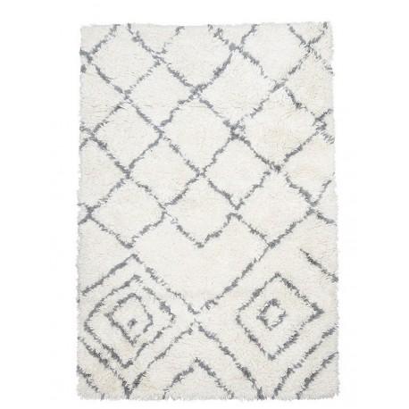 tapis en laine blanc ivoire house doctor cuba 140 x 200 cm kdesign
