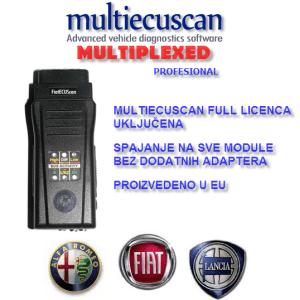 Multiecuscan Multiplexed CANtieCAR profesional autodijagnostika