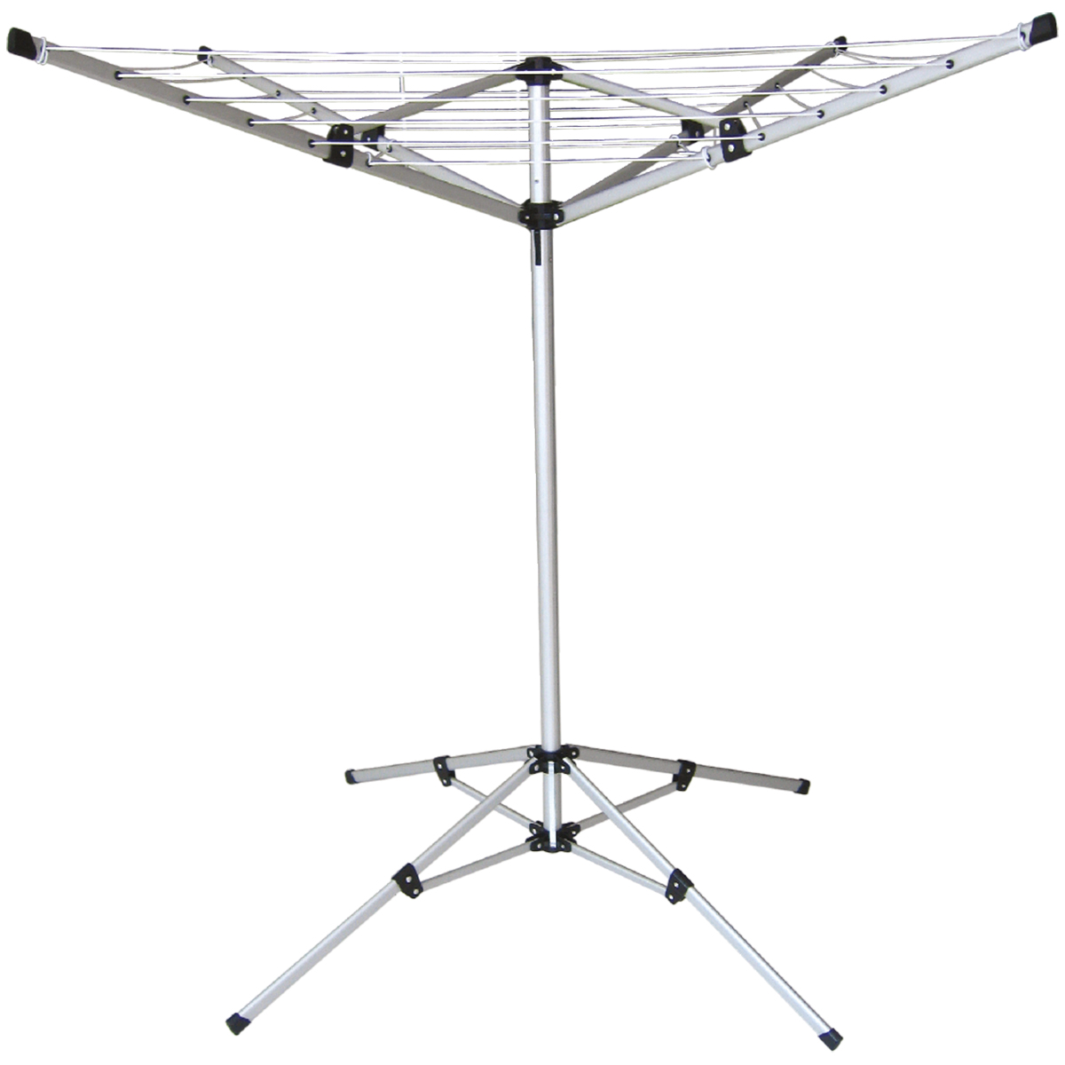18m Clothes Airer Portable Rotary Washing Line 4 Arm Free