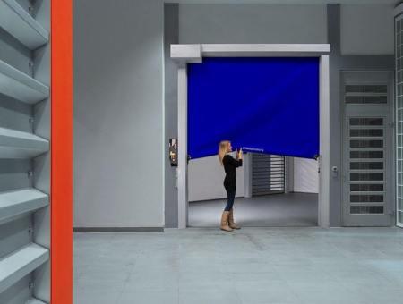 專業物流規劃 安全軟質飛梭門
