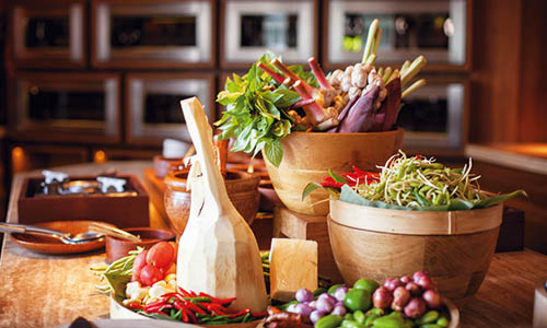 Thai food ingredients and equiptments