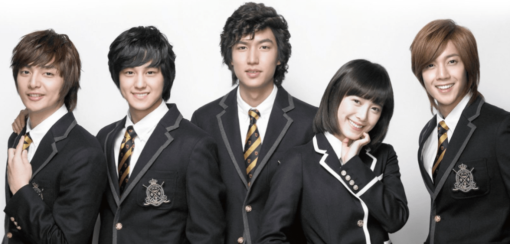 3 kdramas de Lee Min Ho que tienes que ver_Boys over flowers