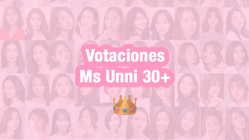 ¡Votaciones a unnis: Ms Unni 30+ 👑!