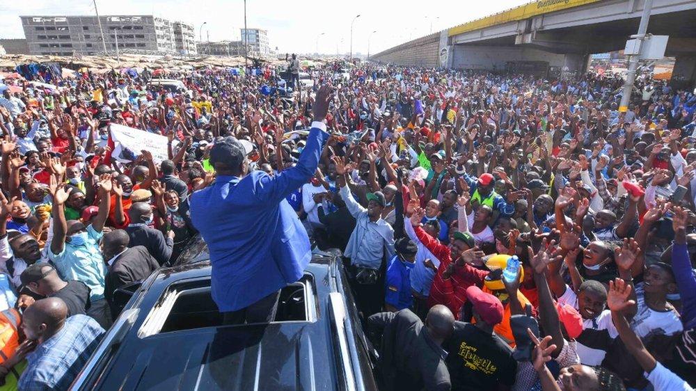 Police Block Ruto from Nyamira Tour - KDRTV