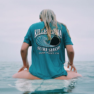 Killer Dana surf