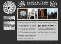 Saving Time Homepage