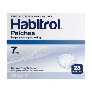 Habitrol Nicotine Patch Step 3 7mg 1 bulk box