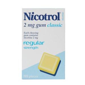 Nicotrol Nicotine Gum 2mg Classic