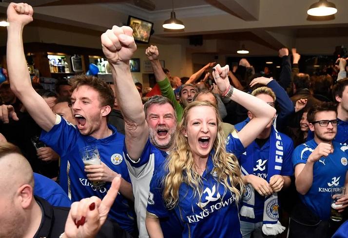 leicester city winner fans football