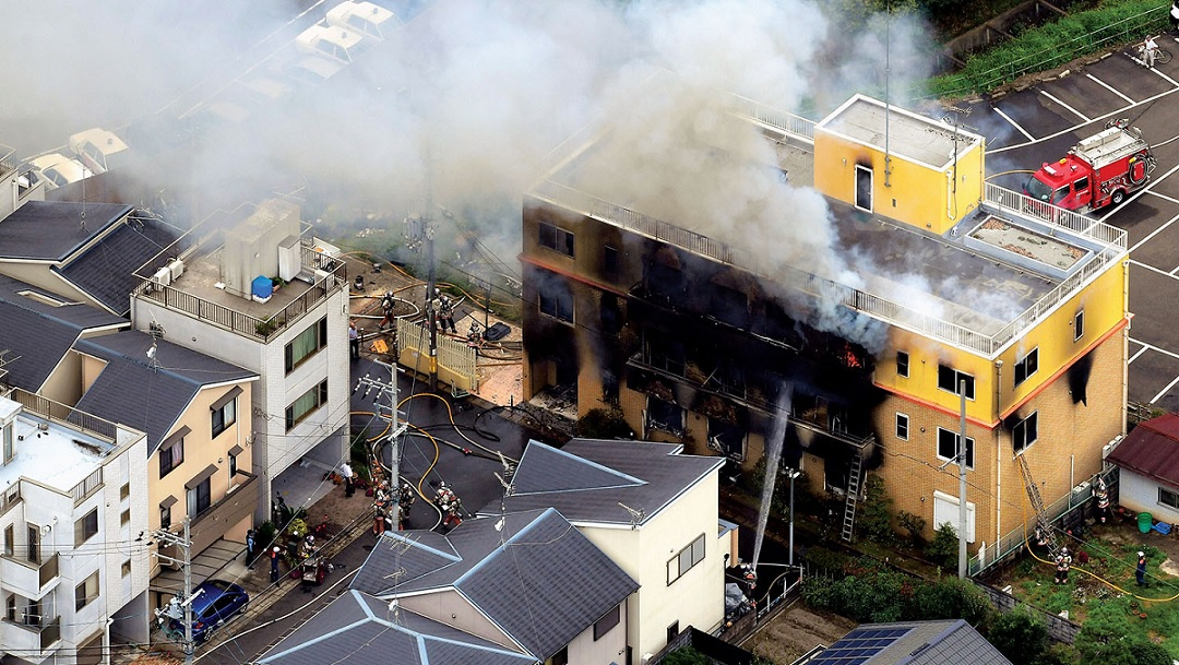 kyoto animation fire attack