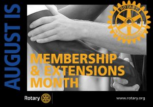 August is Membership and New Club Development Month