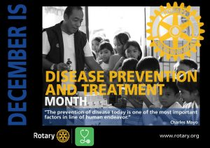 December is Disease Prevention and Treatment Month