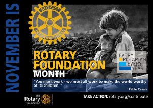 Rotary Foundation Month