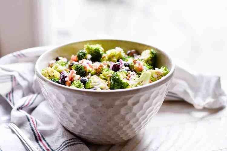 Broccoli Salad Recipe Keat S Eats Family Favorite Recipes