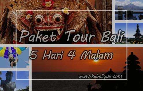 Paket Liburan Bali 5 Hari