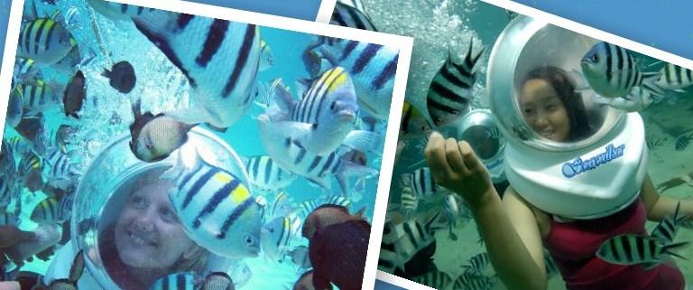 Pesan Seawalker Bali