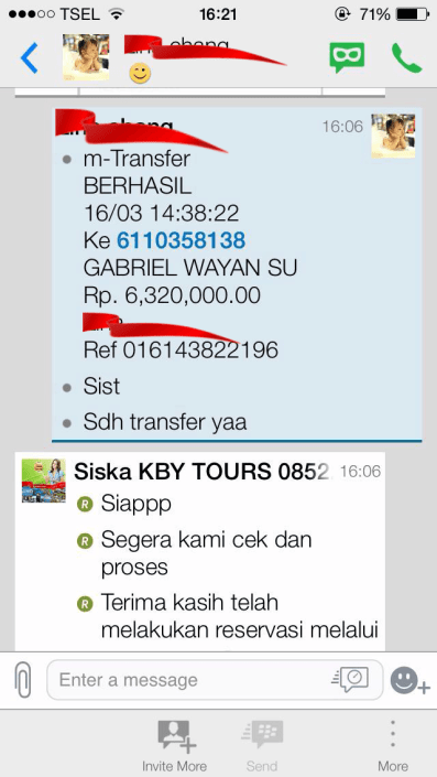 Testimonial KBY Tours Trusted Travel Agent