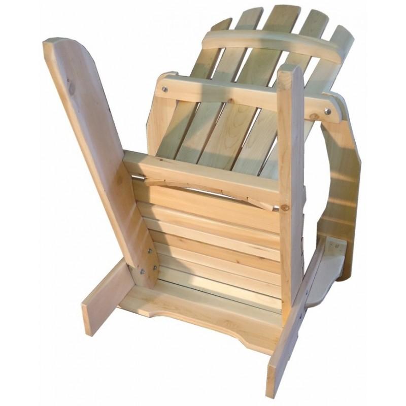 fauteuil adirondack fauteuil de jardin