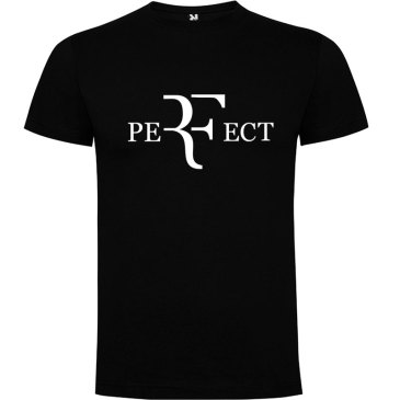 Camiseta para hombre perfect en color negro