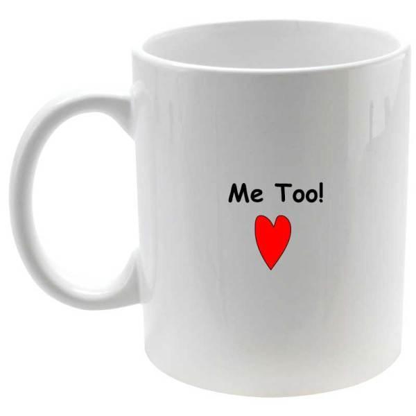 Juego de tazas Love you, Me Too