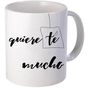 Taza original Desayuno quiere té mucho
