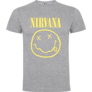 Camiseta El Nirvana para hombre en color gris