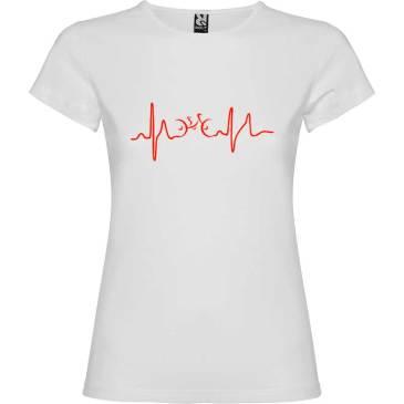 Camiseta para mujer Ciclismo Cardio n color Blanco